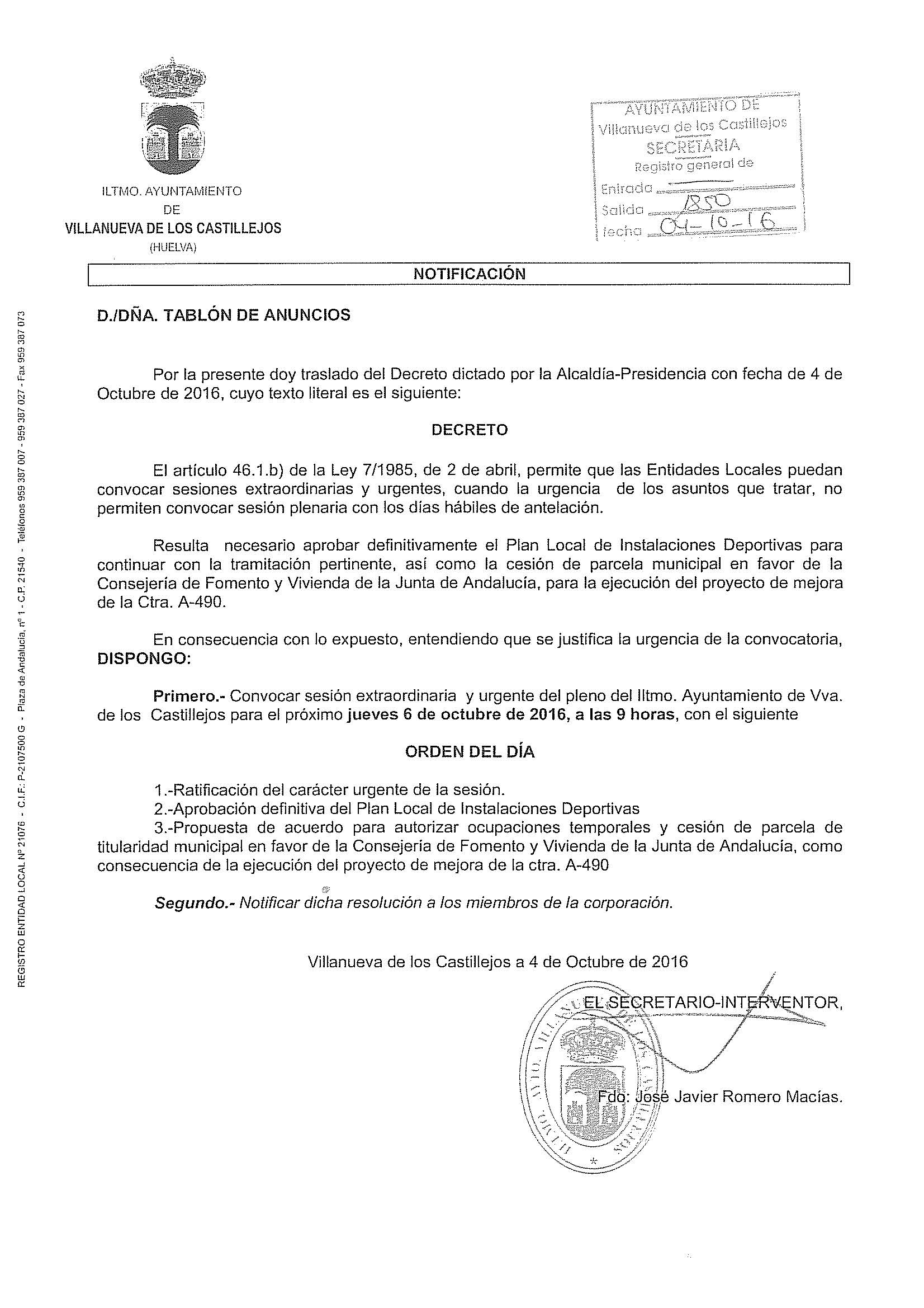 09.-CONVOCATORIA PLENO 06-10-2016