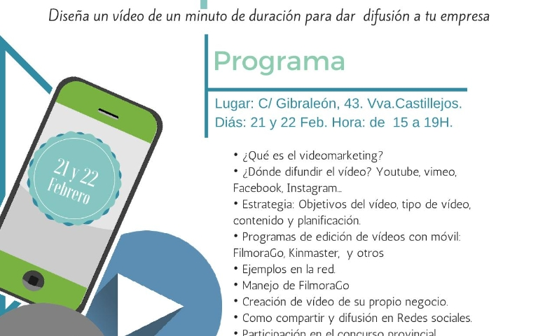 Formación en Vídeo Marketing Empresarial